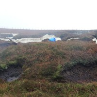 Peatland Restoration at Firthhope by Moffat, Scottish Borders