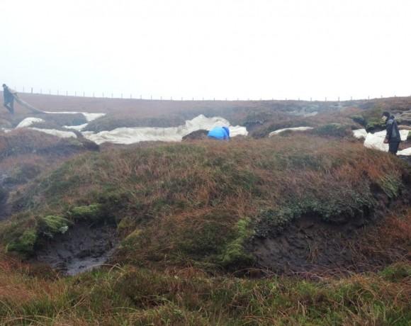 Peatland Restoration at Firthhope by Moffat, Scottish Borders